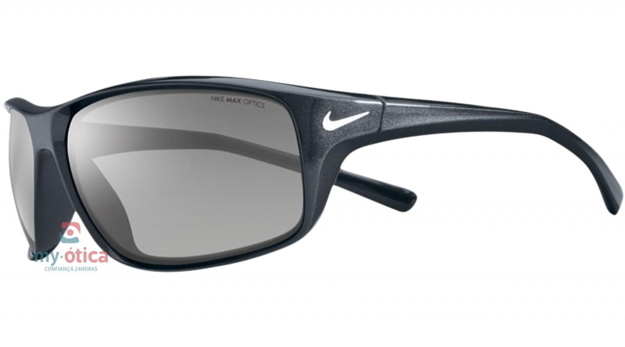 b22e713de582b Óculos de Sol Nike ADRENALINE - Cinza - Loja Virtual My Ótica ...