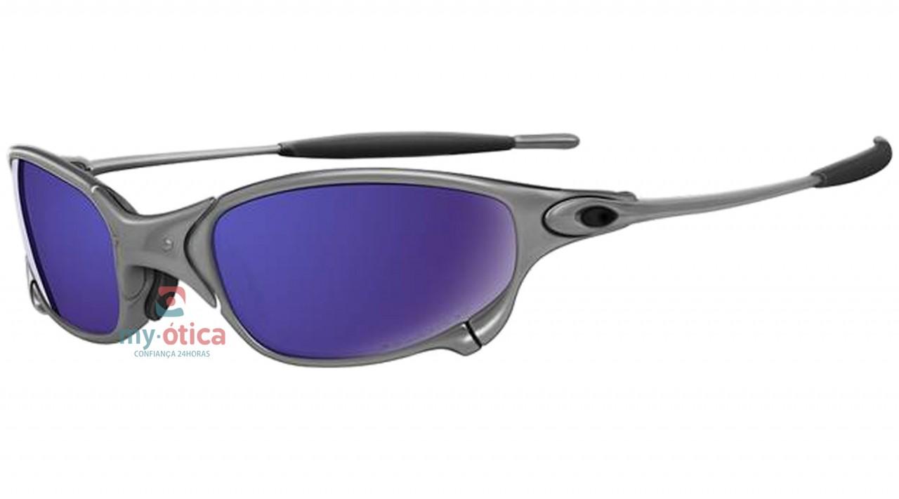 ddf2149e2 Óculos de Sol Oakley Crosshair - Cinza Fosco e Preto - Óculos ...