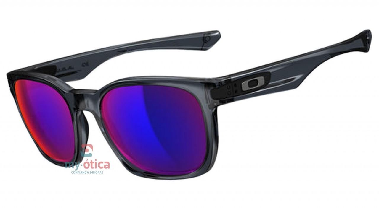Óculos de Sol Oakley Garage Rock - Preto Cristal Lente Roxa - Óculos ... 6d58c3939a