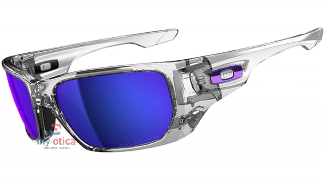 64a8344dd16df Óculos de Sol Oakley STYLE SWITCH Asian Fit - Transparente Polarizado