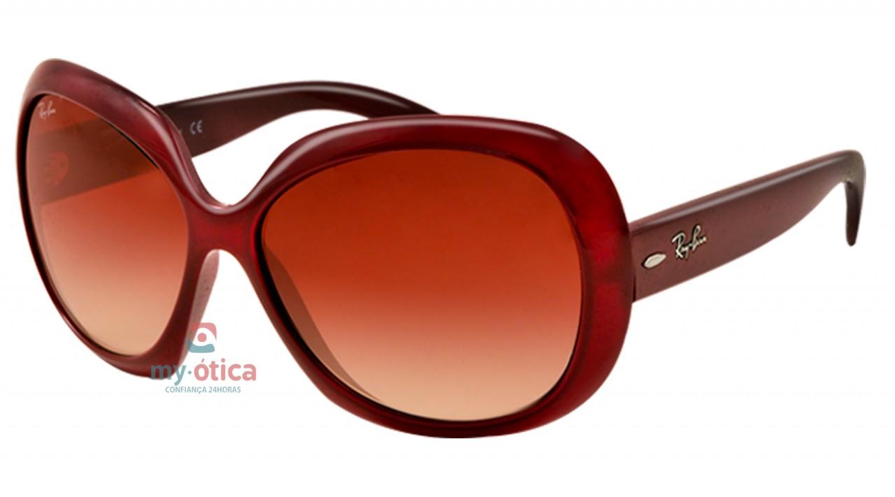 a227cd010 Óculos de Sol Ray Ban RB 4098 Jackie Ohh II - Vinho - Óculos - Ray ...