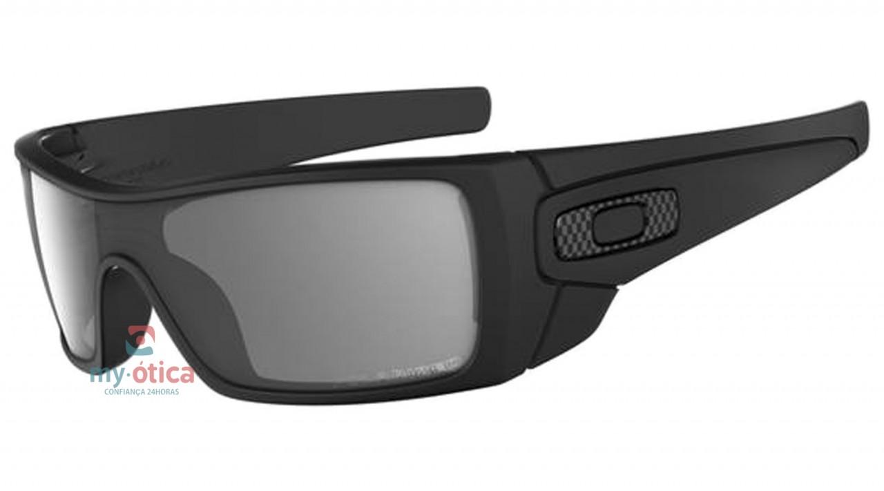 eef24696ca08c Óculos de Sol Oakley Batwolf - Preto Fosco Polarizado - Óculos ...