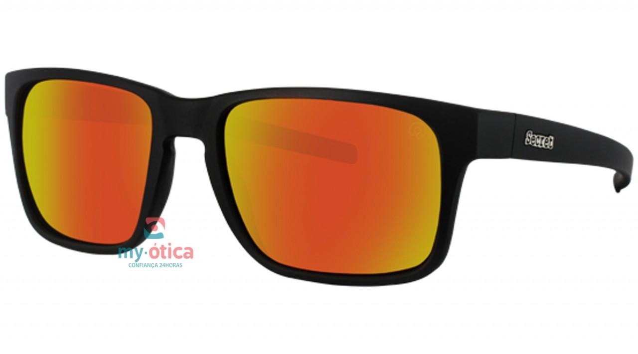 Óculos de Sol Secret Motley - Preto Fosco - Óculos - Secret - Secret ... c8bc74f871