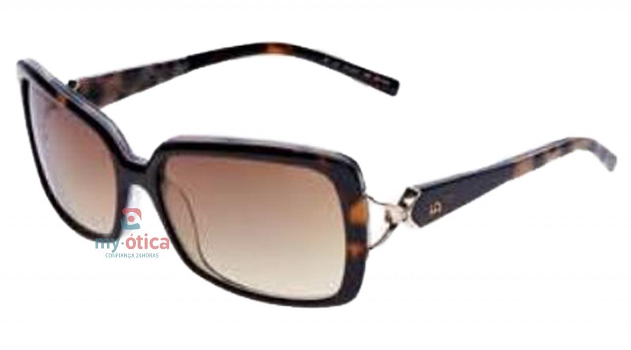 Óculos de Sol Ana Hickmann AH 9136 - Havana - Óculos - Ana Hickmann ... ca9ed2cc26