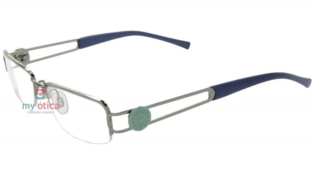 a4ee7592d Óculos de Grau Kipling KB6926 - Prata e Azul - Kipling - Kipling de ...