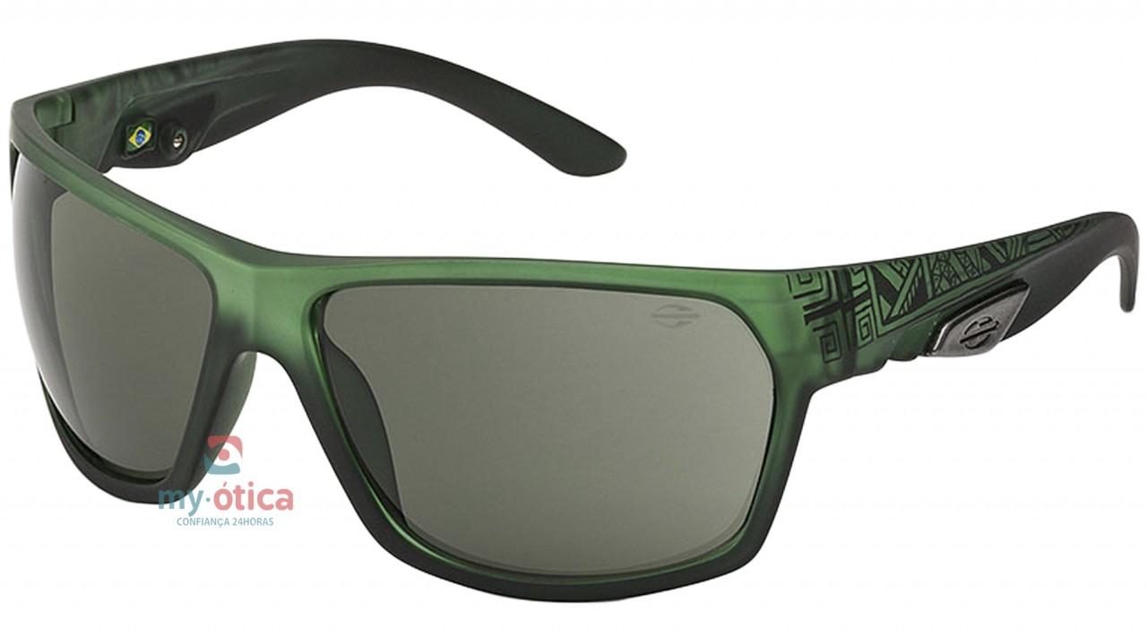 5d28f23c22efd Óculos de Sol Mormaii AMAZÔNIA II - Verde e Preto Fosco - Loja ...