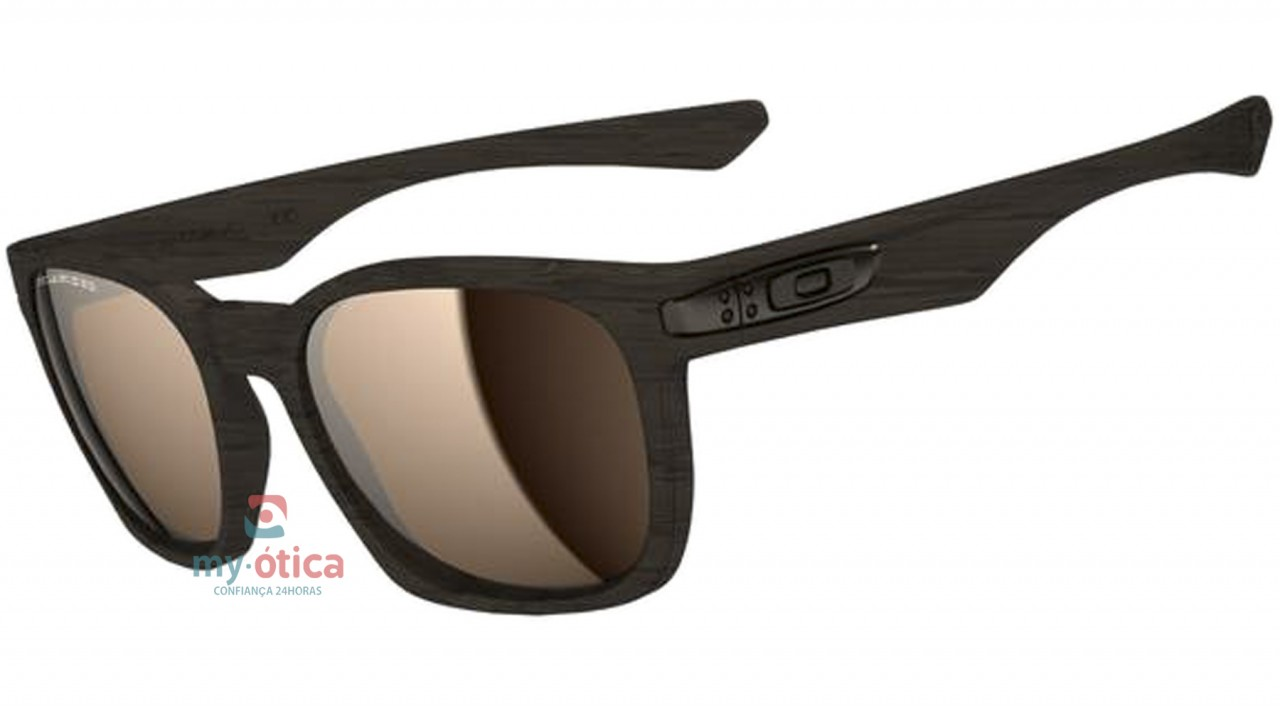 efb1d93acba58 Óculos de Sol Oakley Garage Rock - Marrom Madeira Polarizado ...