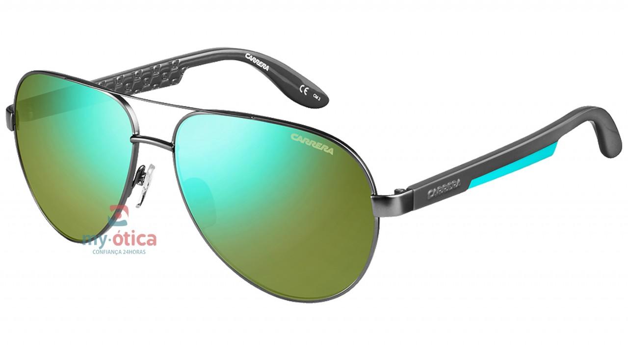 27a58b2ac9763 Óculos de Sol Carrera CARRERA 5009 - Cinza - Loja Virtual My Ótica ...