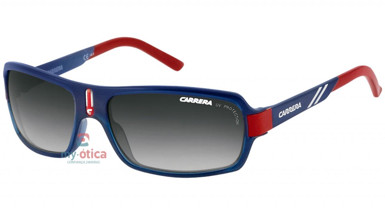 8b42f2b310d17 Óculos de Sol Carrera CARRERINO 8 - Azul e Vermelho - Loja Virtual ...