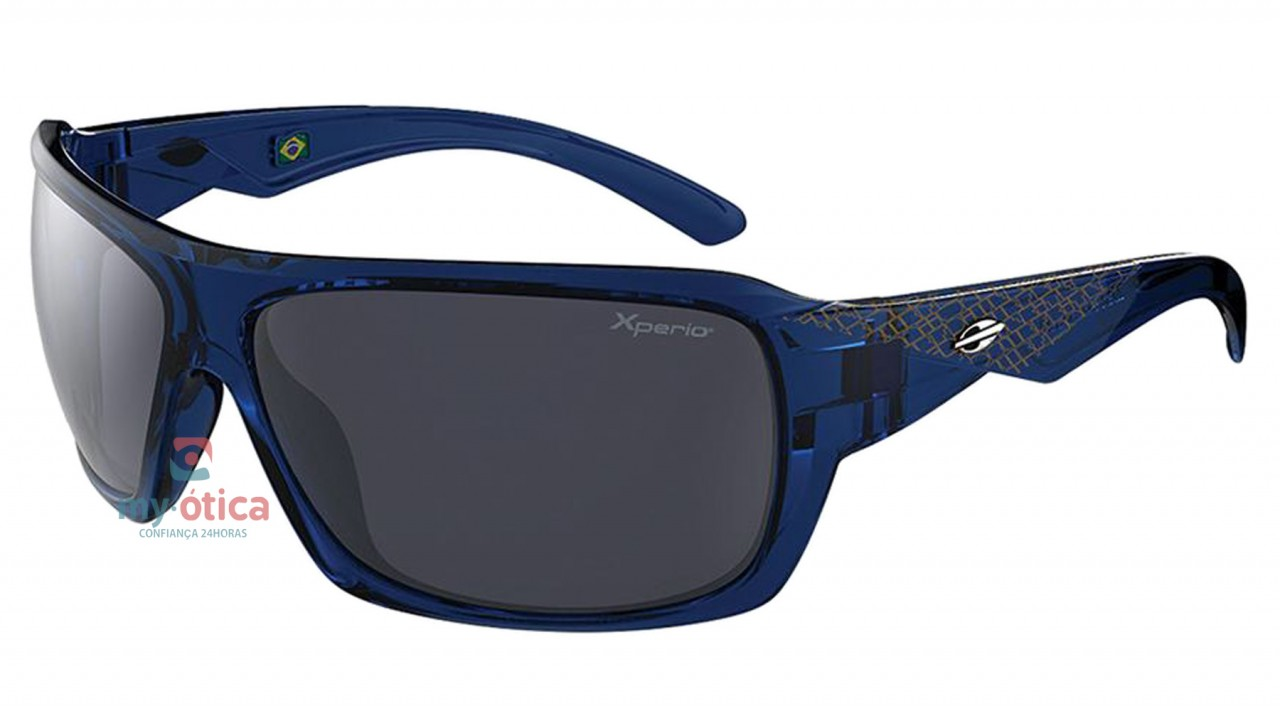 fd388ce1f3015 Óculos de Sol Mormaii Malibu- Azul Translúcido Polarizado - Óculos ...
