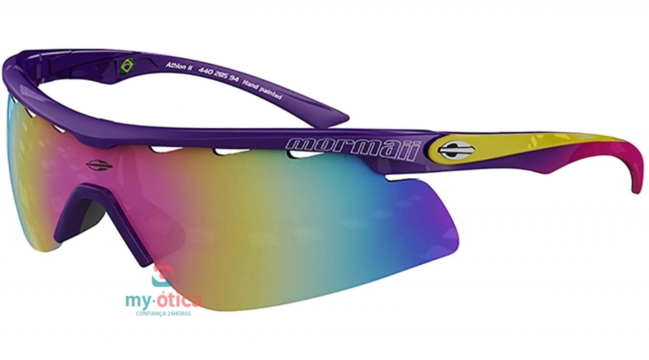 5db16dadc Óculos de Sol Mormaii Athlon II - Roxo e Amarelo - Óculos - Mormaii ...