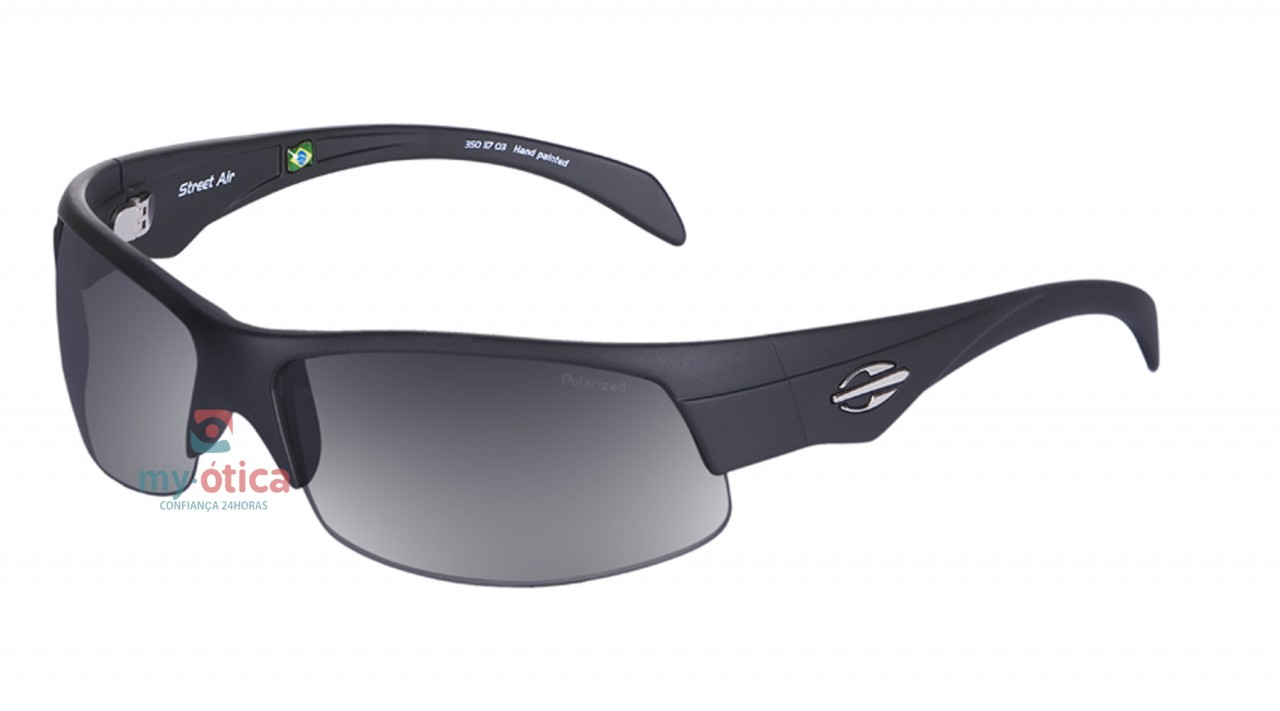 ae1370b6626e2 Óculos de Sol Mormaii Street Air - Preto Fosco Polarizado - Óculos ...