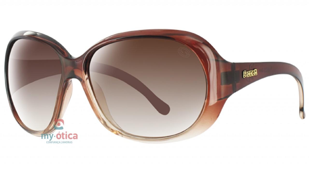 b4ee943d99e4e Óculos de Sol Secret Lily - Marrom Transparente - Óculos - Secret ...