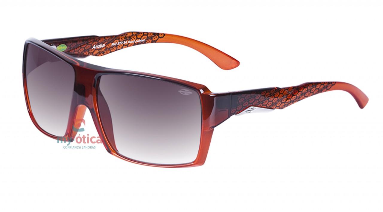5de189ff9a56a Óculos de Sol Mormaii Aruba Baixa - Laranja Degradê - Óculos ...