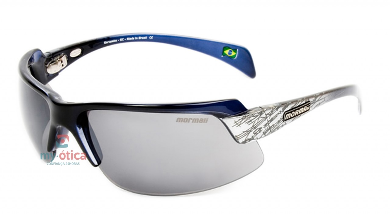 15faf5c84b1e4 Óculos de Sol Mormaii Gamboa Air II - Azul e Branco - Óculos ...