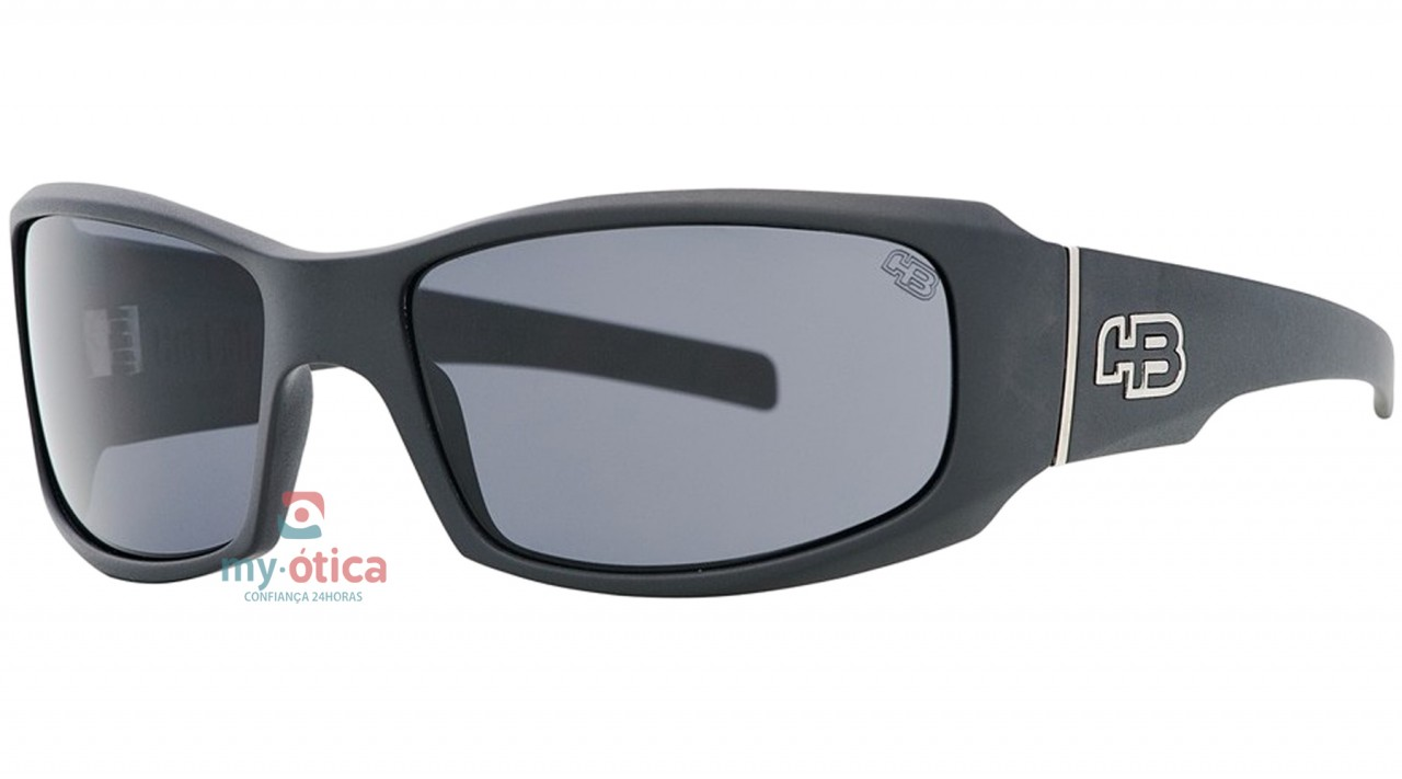 61573be7c Óculos de Sol HB G-Tronic - Preto Fosco Lente Cinza - Óculos - HB ...
