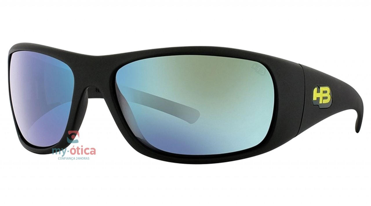 eb58647f316e9 Óculos de Sol HB Fastback - TK Preto Fosco - Óculos - HB - HB de Sol ...