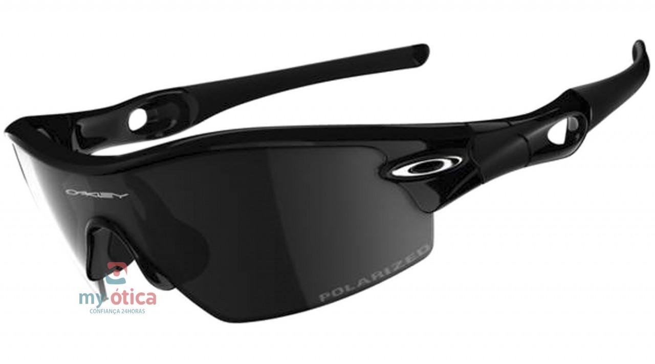 Óculos de Sol Oakley Radar Pitch - Preto Polarizado - Óculos ... 4e29bb297a