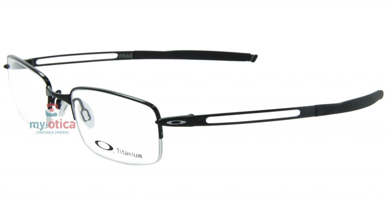 2946be8ab Óculos de Grau Oakley Frag- Preto - Óculos - Oakley - Oakley de Grau ...