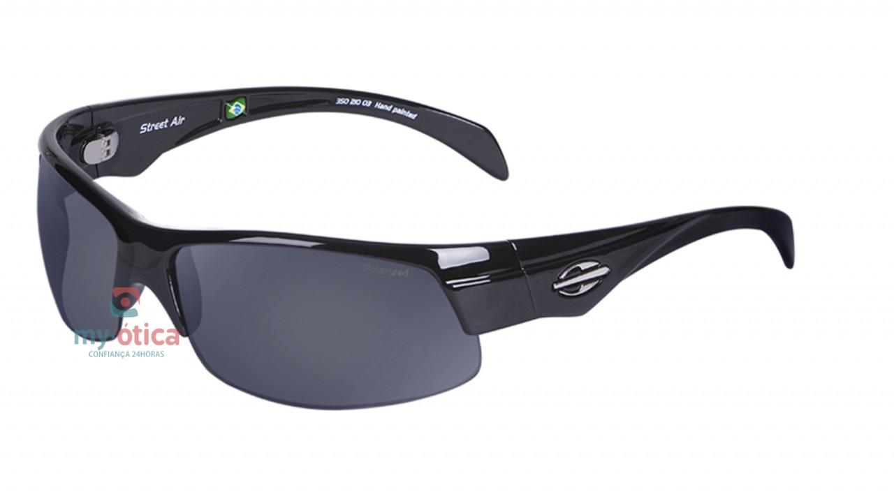 Óculos de Sol Mormaii Street Air - Preto Brilho Polarizado - Óculos ... 80c9d3c1b5