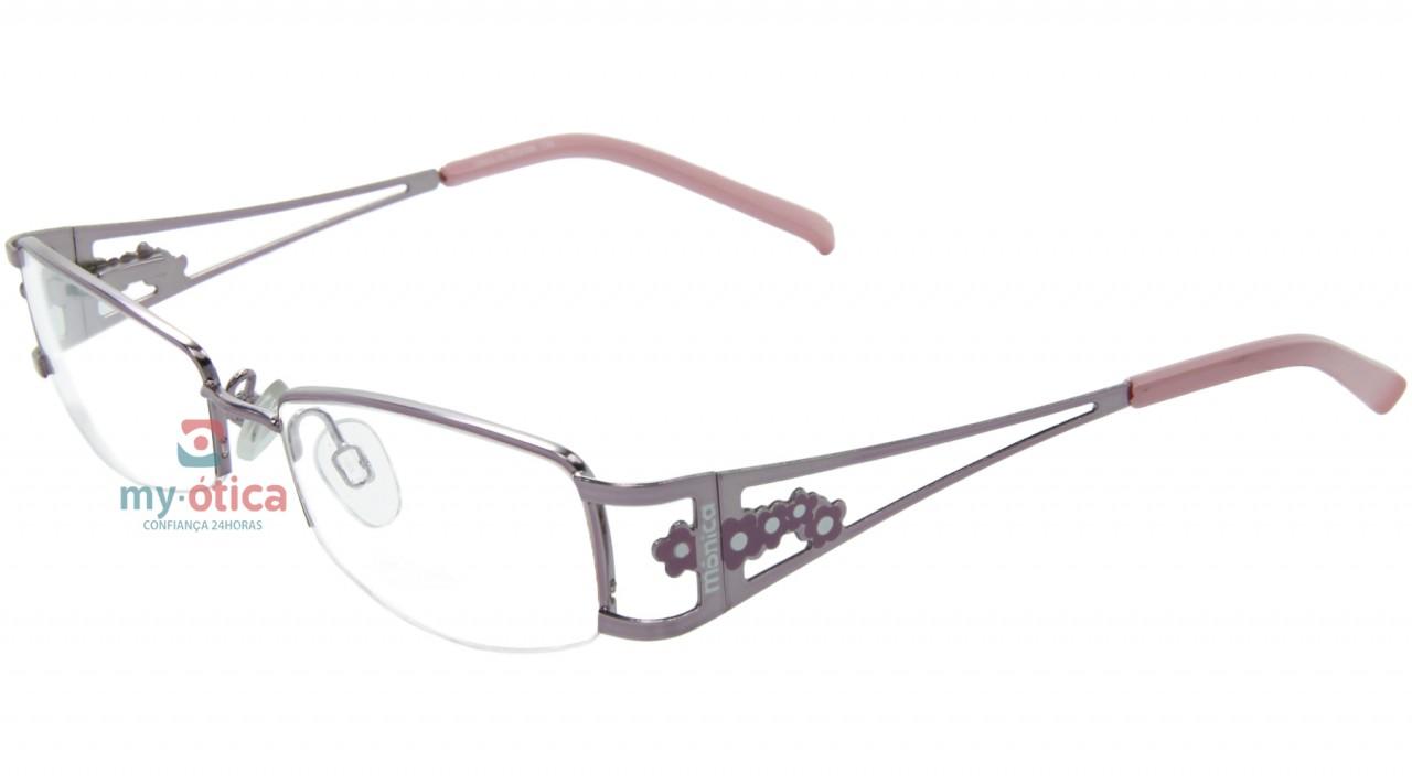 a9339e5661645 Óculos de Grau Infantil Turma da Mônica 7626 - Rosa - Óculos - Turma ...