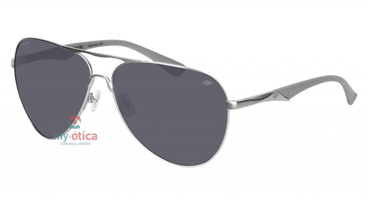 Óculos de Sol Mormaii Sun 378 - Prata Polarizado - Óculos - Mormaii ... 4cb136ff8c
