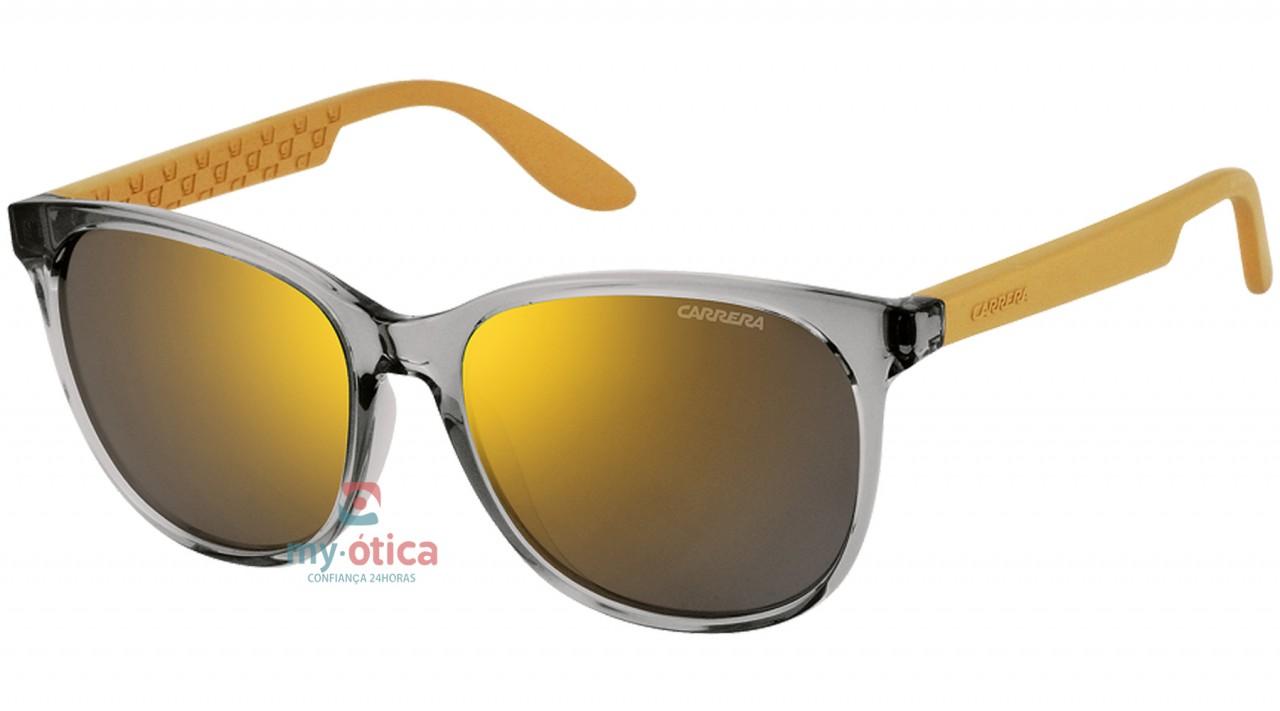 96d06475d453f Óculos de Sol Carrera CARRERA 5001 - Cinza e Amarelo - Loja Virtual ...