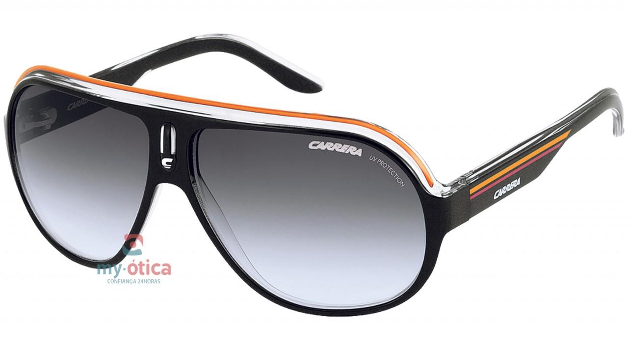 5de702d391 Óculos de Sol Carrera SPEEDWAY - Preto e Laranja - Loja Virtual My ...