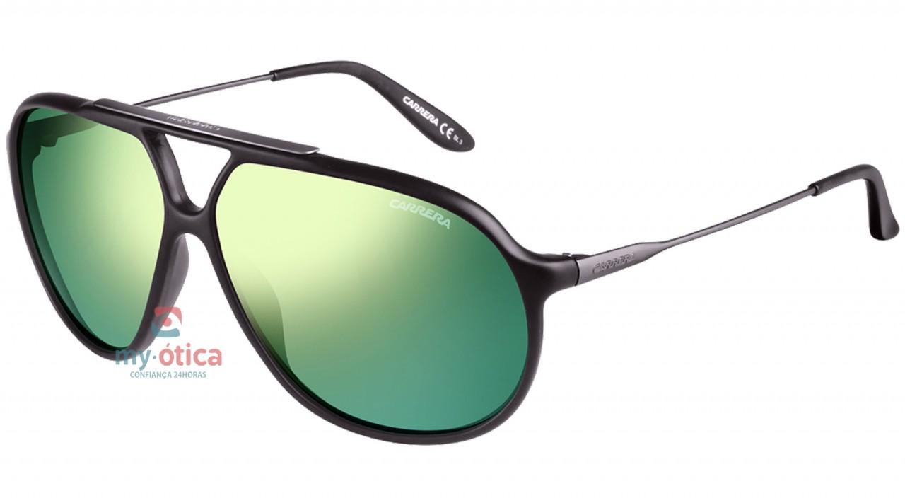 c83e930676485 Óculos de Sol Carrera CARRERA 82 - Preto Lente Verde - Loja Virtual ...