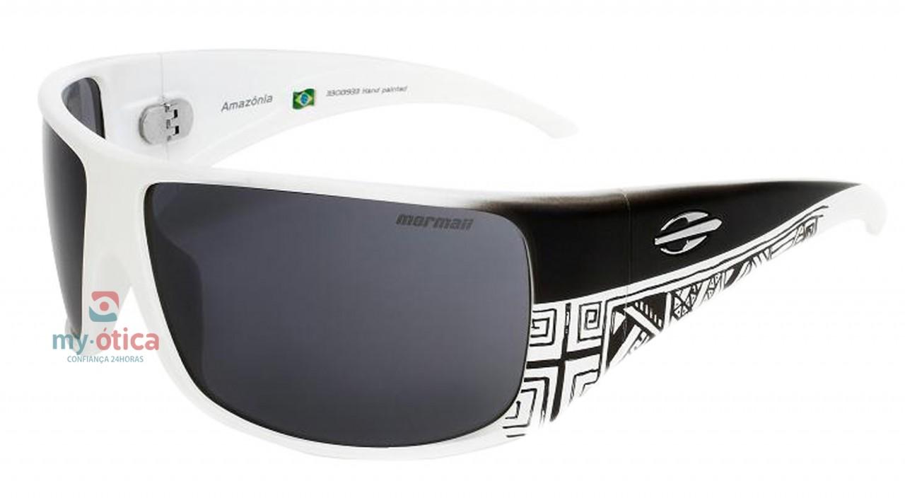 0dcb9ae8eba1b Óculos de Sol Mormaii Amazonia - Branco e Preto - Óculos - Mormaii ...