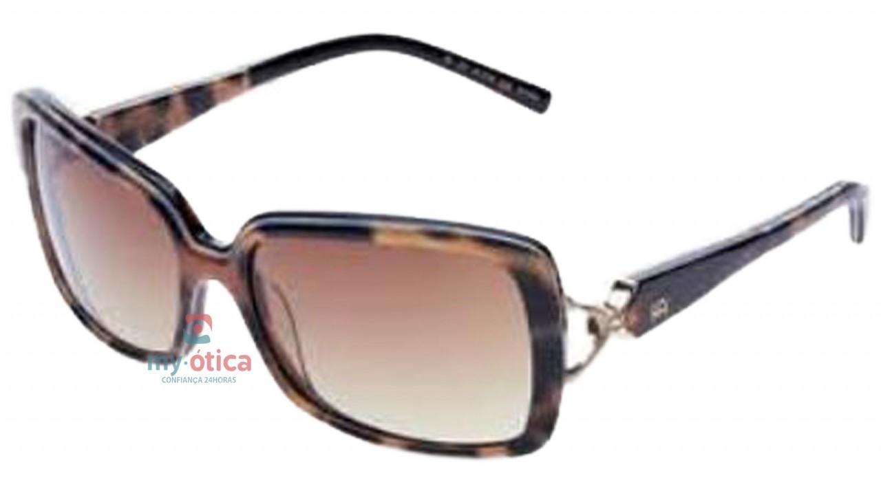 Óculos de Sol Ana Hickmann AH 9136 - Havana e Marrom - Óculos - Ana ... 368fe5073a