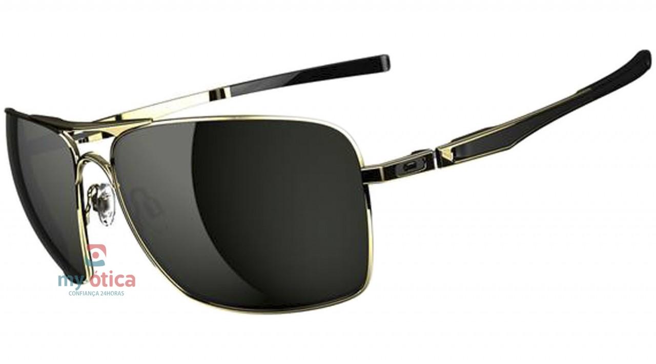 Óculos de Sol Oakley Plaintiff Squared - Dourado - Óculos - Oakley ... a15c4ab465