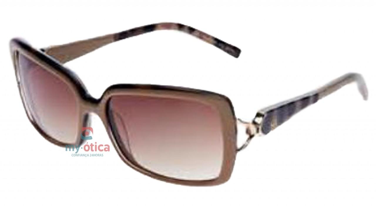 Óculos de Sol Ana Hickmann AH 9136 - Marrom e Havana - Óculos - Ana ... 7f5c0797df