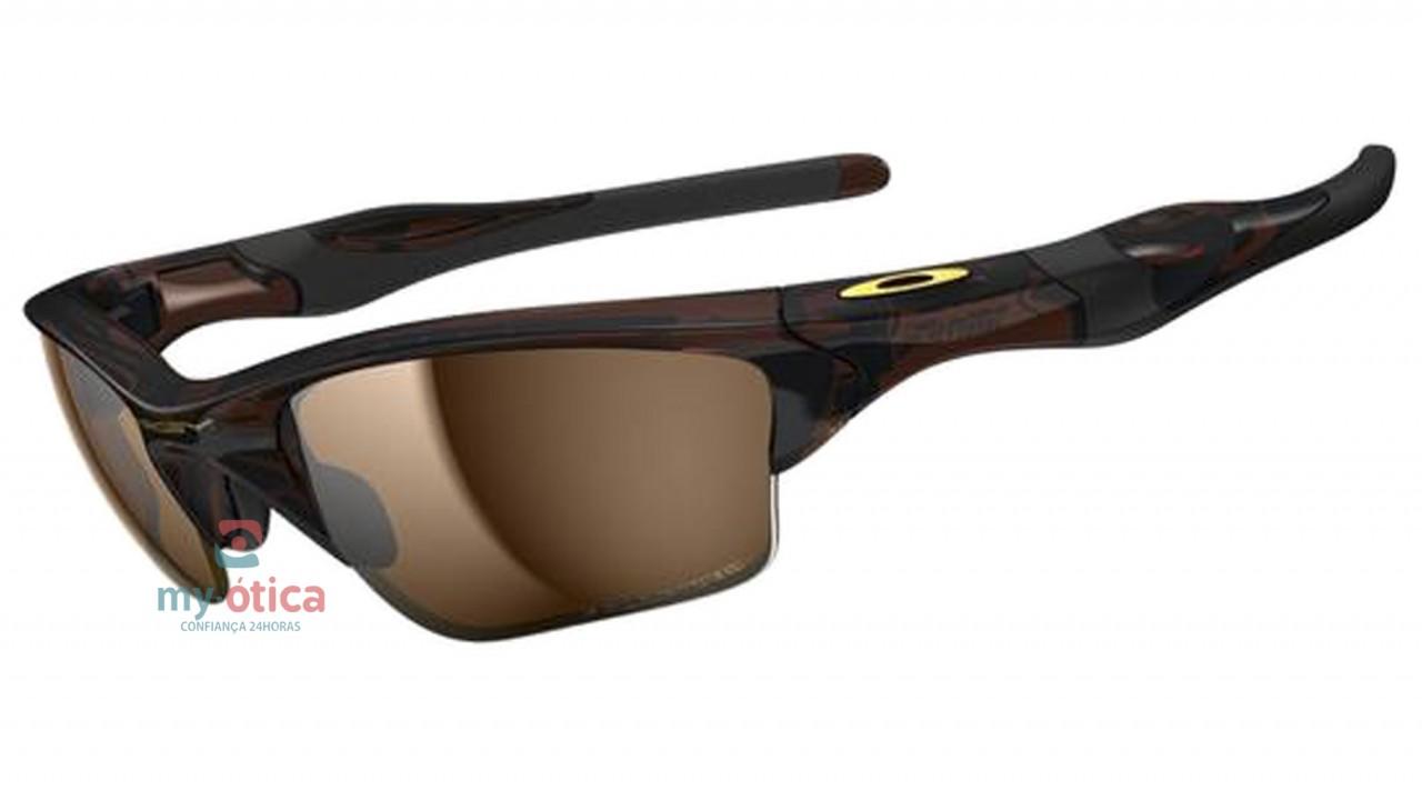 46471a466b129 Óculos de Sol Oakley Half Jacket 2.0 XL - Marrom e Preto Polarizado ...