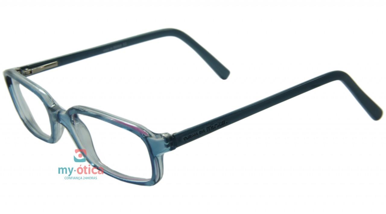 69d0bdd02 Óculos de Grau Infantil Turma da Mônica 5952 - Azul e Transparente ...