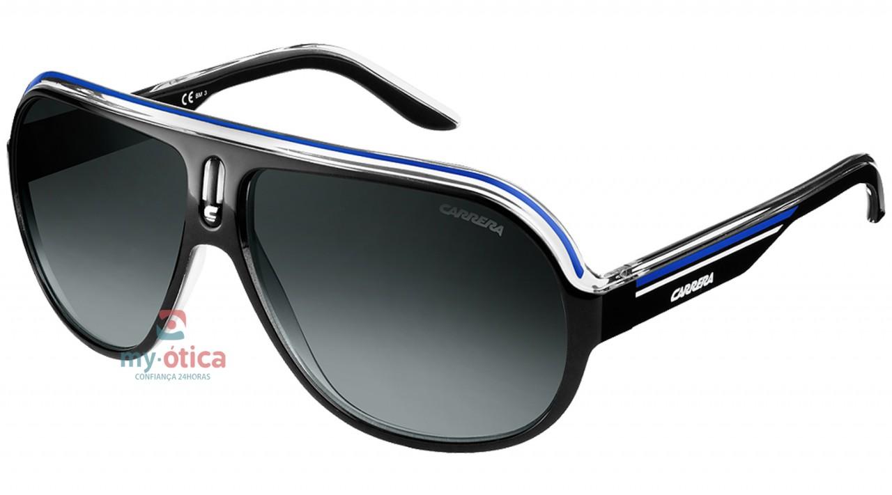 74197f4be2 Óculos de Sol Carrera SPEEDWAY - Preto e Azul - Loja Virtual My ...