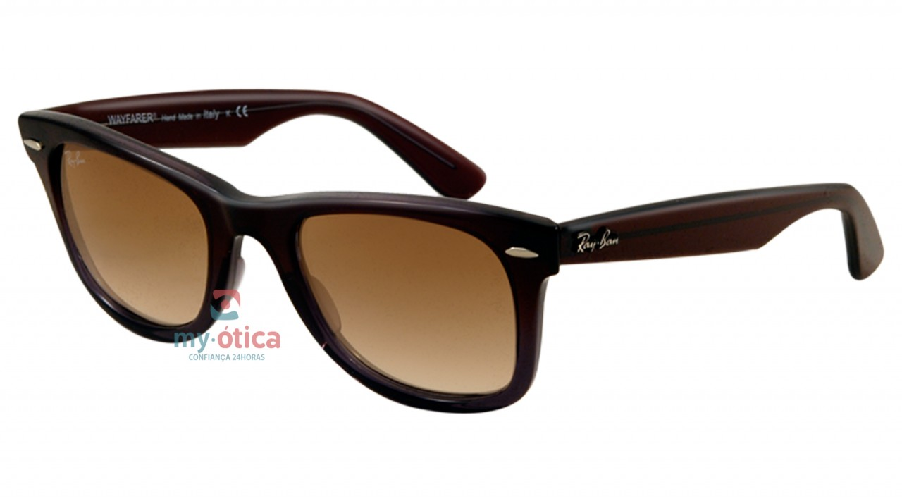 8b2c070e5 Óculos de Sol Ray Ban RB 2140 Wayfarer - Marrom - Óculos - Ray ban ...