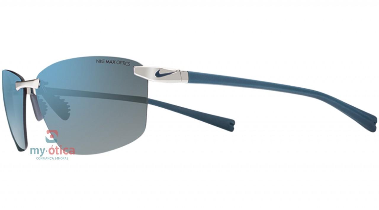 c884abeeb Óculos de Sol Nike EMERGENT - Prata e Azul - Loja Virtual My Ótica ...