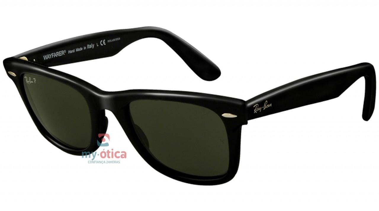 Óculos de Sol Ray Ban RB 2140 Wayfarer - Preto - Óculos - Ray ban - fd25f1478b