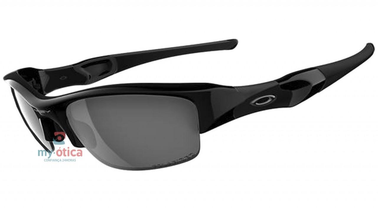 01d13c907 Óculos de Sol Oakley Flak Jacket - Preto Polarizado - Óculos ...