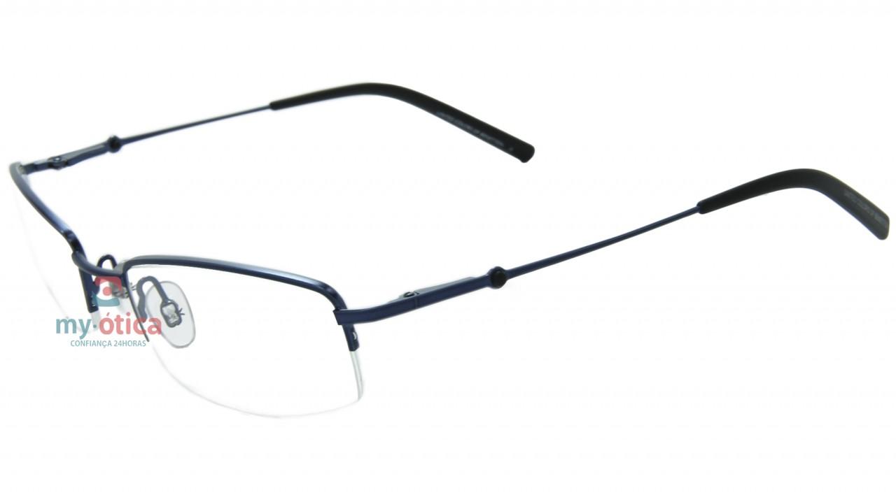 455f9da35 Óculos de Grau Benetton 5325 - Azul e Preto - Óculos - Benetton ...