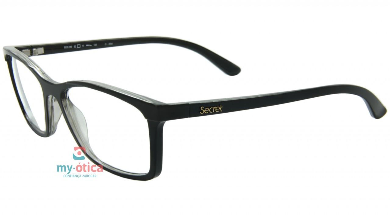 c8bd42032a334 Óculos de Grau Secret RX 80049 - Preto - Óculos - Secret - Secret de ...