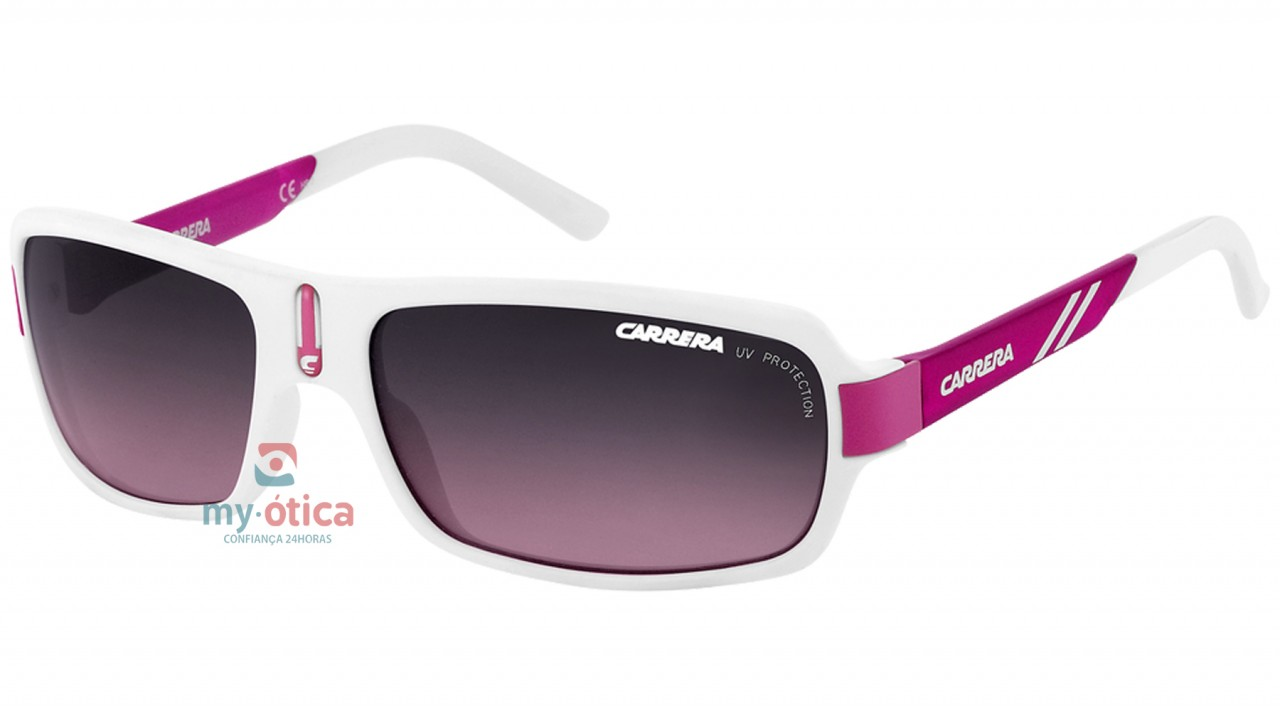 32fca64856286 Óculos de Sol Carrera CARRERINO 8 - Branco e Rosa - Loja Virtual My ...
