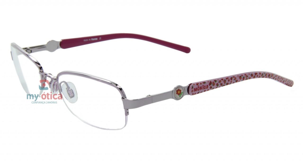 6d8528fe7adcd Óculos de Grau Infantil Turma da Mônica T91025 - Rosa - Óculos ...