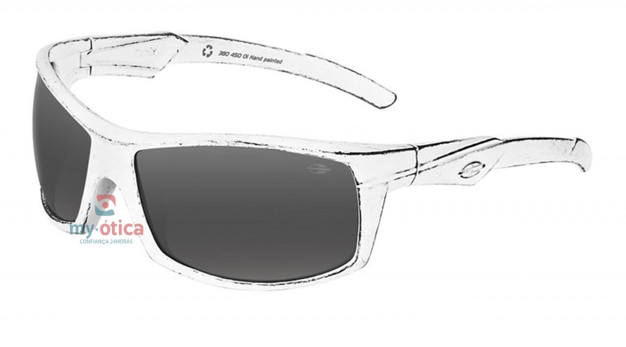 80ddbc76ee6c5 Óculos de Sol Mormaii Fenix - Branco Riscado e Preto - Óculos ...
