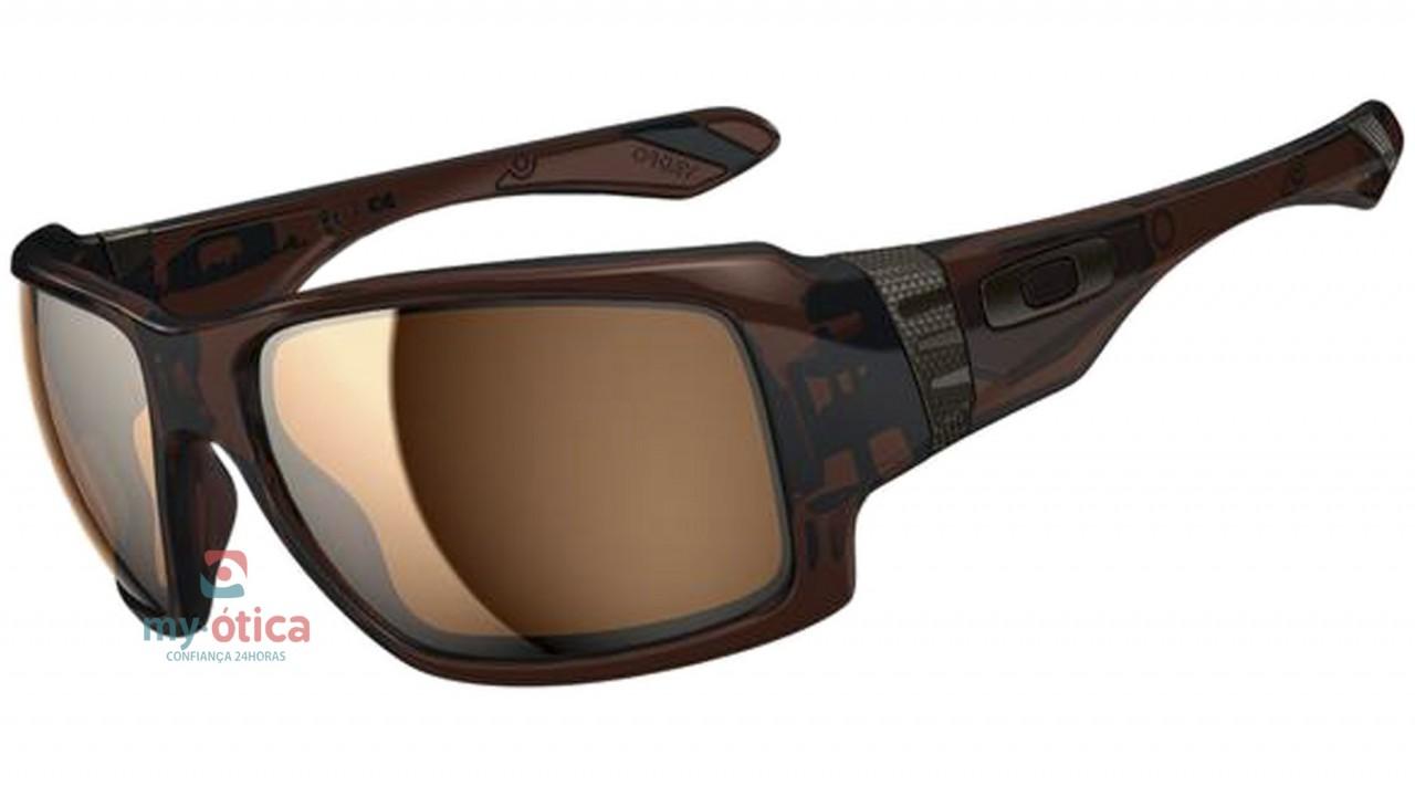 14f4da5f470f7 Óculos de Sol Oakley Big Taco - Marrom - Óculos - Oakley - Oakley de ...