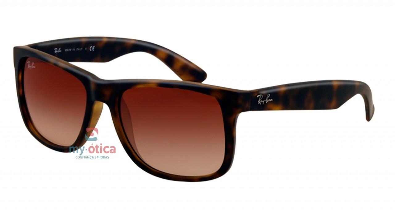 c13c059a3 Óculos de Sol Ray Ban RB 4165 Justin - Havana - Óculos - Ray ban ...