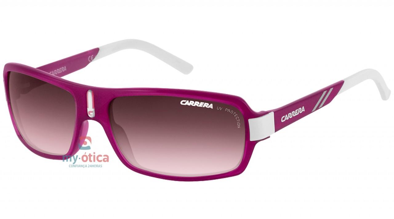 deffcaa9137cb Óculos de Sol Carrera CARRERINO 8 - Rosa e Branco - Loja Virtual My ...