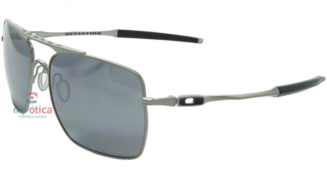 76dd9cee107da Óculos de Sol Oakley Crosshair Titanium - Cinza Fosco e Preto ...