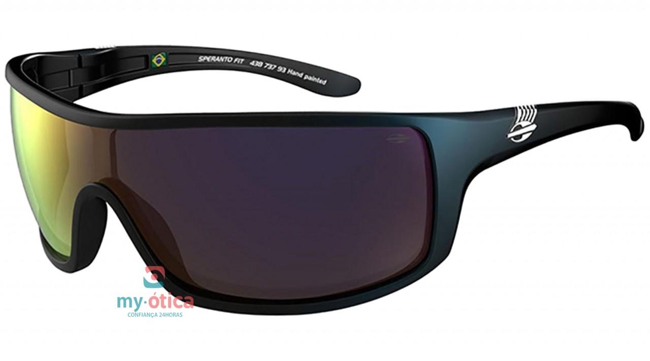 3f828a0844bdd Óculos de Sol Mormaii Speranto Fit - Verde e Preto Fosco - Óculos ...